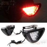 Wholesale Motorcycle rear light assembly pedal motorcycle decoration lamp motorcycle brake lights electric bicycle led rear light