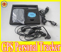 Wholesale Brand new Mini Personal Tracker for pet kids GPS SMS SOS Voice Real Time Tracking
