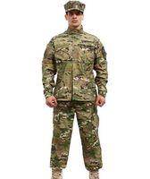 Wholesale US UK Military Army USMC BDU CP Camo Suit Men Combat Hunting Uniform Wargame Paintball Clothing
