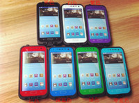Wholesale Red Pepper Waterproof case for S4 i9500 Shockproof and Dirtproof Cover Case hot colors DHL Dropship