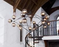 Wholesale nimi58 Modern Glass Chandeliers Jason Miller MODO Chandelier Droplight Heads Living Room Pendant Lamp Light Lighting For Restaura