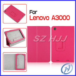 Folio Stand Leather Case Cover For Lenovo A3000 Litchi PU Leather Case Colorful Cases