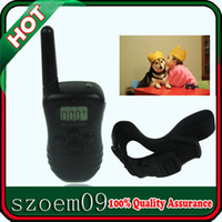 Wholesale New For lb Dog LCD Display LV Level Shock amp Vibra Remote Pet Animal Training Collar Control Unit