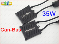 Wholesale 1 Set AC V W Slim Can Bus Xenon HID Kit Set HID Conversion Kit H1 H3 H4 H7 H11 Xenon HID Kit System TTT