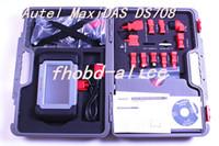 Wholesale DHL Top Rated Professional Original Autel MAXIDAS DS708 scanner update via internet mult language ds