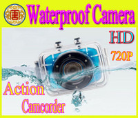 Wholesale New arrival HD P Extreme Sports Action Camera Waterproof Sports Video Camera Camcorder DV