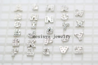 Chirstmas b d u s - letters A B C D E F G H I J K L M N O P Q R S T U V W X Y Z floating charm for glass memory living locket Xmas no locket included