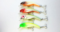 Wholesale Cranbaits Fishing Lure Bait trackle hard plastic lure Floating trout Minnow CM G hooks
