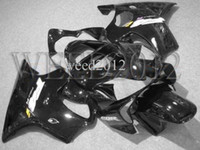 Wholesale all black pure black CBR600F4i ABS Fairings Body Kit Fairing for Honda CBR600 CBR F4i