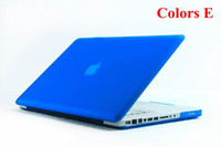 "Apple 13 inch  Cheap Matte flip Laptop protect Cover Case For Apple Macbook PRO 13"" New arrvial 60pcs"