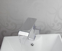 Ceramic Chrome Deck Mounted Perfect Bathroom basin & sink Chrome Brass Tap mixer faucet DR1472