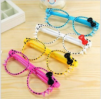 Wholesale Glasses Ball Point Pen SUNGLASSES SHAPED Dollhouse miniature Toy Promotion Gift