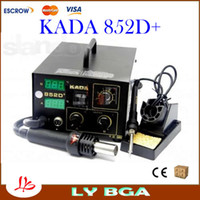 852D+ 110V/220V Hot Air KADA 852D+ SMD Hot Air Soldering Station , KADA852D+ BGA Welder With Hot Air Gun,Hot Air Desoldering Station