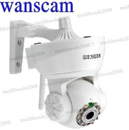 Wholesale New Wireless Dual Audio Recordable Baby Monitor Wifi Infrared Night Vision PanTilt Security Network IP Internet Camera White P2P MYY5372