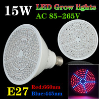 Wholesale 2013 Newest AC85 V W E27 Hydroponic System Lamp LED Grow Plant Light Bulb For Plant Or flower In Outdoor Garden