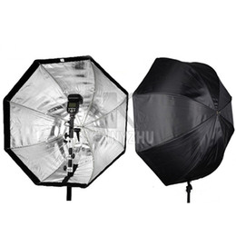 Wholesale New Professional Universal Portable cm Octagon cm Softbox Umbrella Reflector For Photegrapy Studio Speedlite