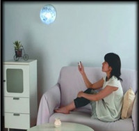 Wholesale Best Gift LED Wall Night Moon Light Healing Light Lamp with Remote Control From Power Seller