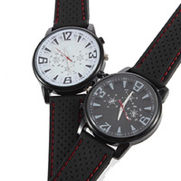 Wholesale NEW HOT Mixed Black White Military Army Pilot Style Mens Silicone Outdoor Sport Wrt Watch Free DHL shipping