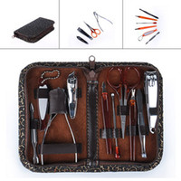 Wholesale HH Manicure SET pc IN Nail Clipper Earpick Grooming Pedicure KIT MAN Women