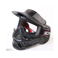 Wholesale NEW Outdoor Sports Anti Fog Bulletproof Airsoft Paintball CS Goggle Full Face Mask Visor GEN