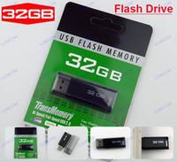 32gb flash drive - 20pcs GB USB Flash Memory Pen Drive Stick Drives Sticks Disks GB Pendrives Thumbdrives