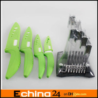 Wholesale Ceramic Knife set Black and Green Color Kitchen Use Home and Garden