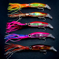 Wholesale 5pcs Squirt Octopus Skirt Trolling Bait Baites Fishing Lures mm g colors Mix Colors