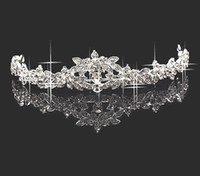 Wholesale Hair Accessories Rhinestone Crown Bridal Tiaras Prom Wedding Party Jewelry A297