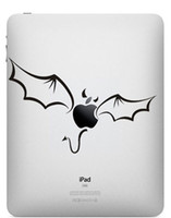 Wholesale Black And White Series Ipad Mini Pad Creative Screen Protetive Film Demon wings Skin Protector pc