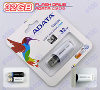 Wholesale ADATA C906 GB USB Flash Drives Memory Sticks Pen Drive Disk GB Flash Memory Thumb drives Pen drives Q051A