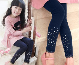 Wholesale New coming baby girl tights Girls Leggings Shining girl leggings cotton fashion girl leggings colors erbaby