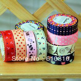 Wholesale fashion enjoy life series high quality Satin tape mmx1m Office Adhesive silk tape