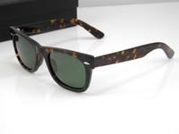 al por mayor nuevas monturas para gafas-Las gafas de sol para mujer del nuevo de la alta calidad para hombre de las gafas de sol del marco de la tortuga de los vidrios del tablero de los vidrios de la lente verde de cristal de la lente se dirigen las gafas de sol glitter2009