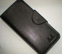 Wholesale Fashion Mens Long Patent Leather Wallet Pockets Card Clutch Purse Card Holder MIXED