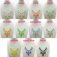 Wholesale 50pcs mm Mini Bubble Necklace Candy Bib Statement Bubble Necklace