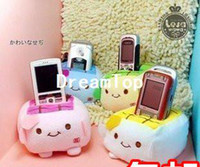 For Apple For Ipad3 For 7 Min Order $10 (mixed order)Free Shipping Popular tofu plush tofu cell phone holder pad mobile phone accessories wholesale