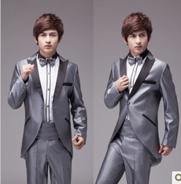Wholesale new Korean high quanlity groom wear tuxedos