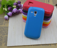 For Samsung Plastic  Protective TPU Phone Case Cover for Samsung Galaxy S7562 and S7560 Free shipping DHL Fedex