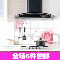 Graphic vinyl PVC Animal 2131 quality aluminum foil oil pollution smoke tile kitchen cabinet decoration stickers