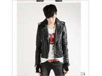 Wholesale New non mainstream men s short paragraph Korean version of Slim machine wagon jacket
