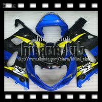 Wholesale 7gifts Blue black R750 R600 For SUZUKI K1 GSXR750 GSXR600 GSX R600 Blue yellow black C A1 GSXR Fairing