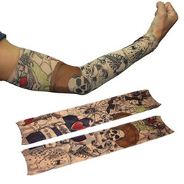 Wholesale Fake Temporary Tattoo Sleeves Artwork Arm Stocking