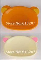 Wholesale Kawaii Plastic Rilakkuma Plate Tableware Dish Snacks Dish Seasoning Dish