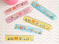 New Year folding ruler - 3 styles Despicable Me characters cm cartoon stationery plastic folding ruler