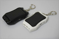 flash mp5 - USB MAH Solar Battery Panel Charger Keychain with LED Flash light for mobile phone MP3 MP4 PDA Samsung Nokia