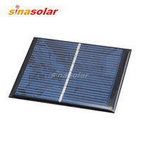Wholesale 4V mA High Efficiency Polycrystalline Epoxy Resin Solar Panel for electronic DIY x70mm W