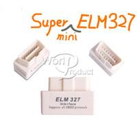 Wholesale Latest Version V2 Super Mini ELM327 Bluetooth OBD2 Scanner ELM For Multi brand CANBUS Support All OBD2 Model