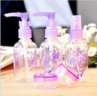 Wholesale 100sets set Cosmetics Packaging Bottles Perfume Spray Bottle Perfume Bottle