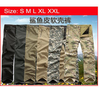 Wholesale TAD Soft Shell Windbreaker Pants For Outdoor Hunting Camping Army Waterproof Trouser Outerwear
