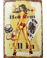 Wholesale Tin SignThe old Retro Nostalgic World Premiere Poster Painting Metal Painting Decorative Iron Matte Frosted Matte Essential Decorative Tin S